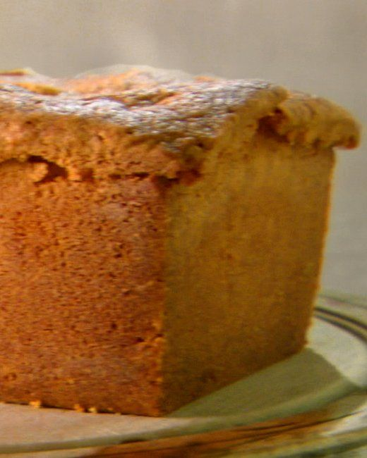 Cream Cheese Pound Cake This rich, creamy cake recipe, from chef David ...