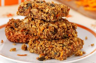 Give your flapjacks a savoury taste with this easy carrot and seed recipe. At just 9p per slice, these flapjacks make a great, cheap snack.