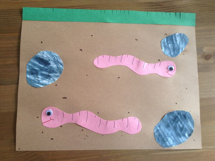 W is for Worm Craft - Preschool Craft - Letter of the Week Craft - Kids Craft