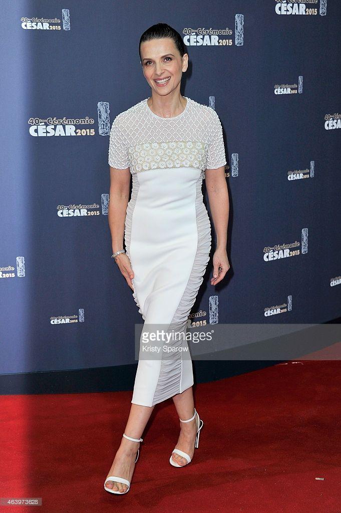 Photo d'actualité : Juliette Binoche attends the 40th Cesar Film...