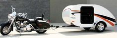 Motorcycle Teardrop Trailer