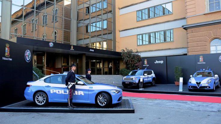 Jeep and Alfa Romeo join the already exotic Italian police force - Autoblog