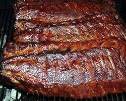 Oven BBQ Ribs Recipe.  Can use any sauce (bbq, teriyaki, etc)
