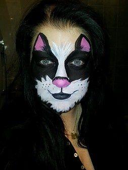 Face | http://paintbodyideas335.blogspot.com
