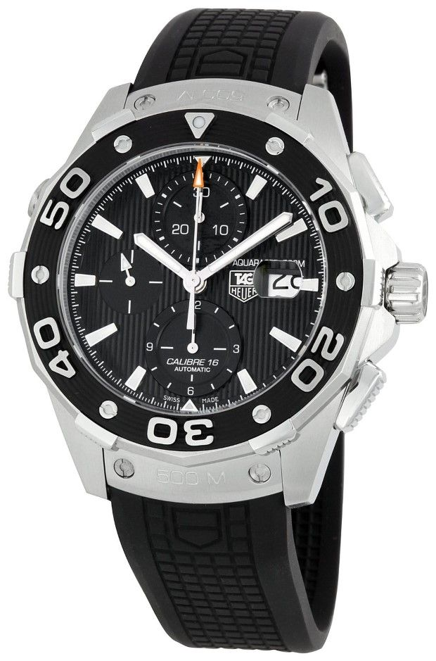 men watches TAG Heuer Men's CAJ2110FT6023 Aquaracer Chronograph Watch Best watches for men