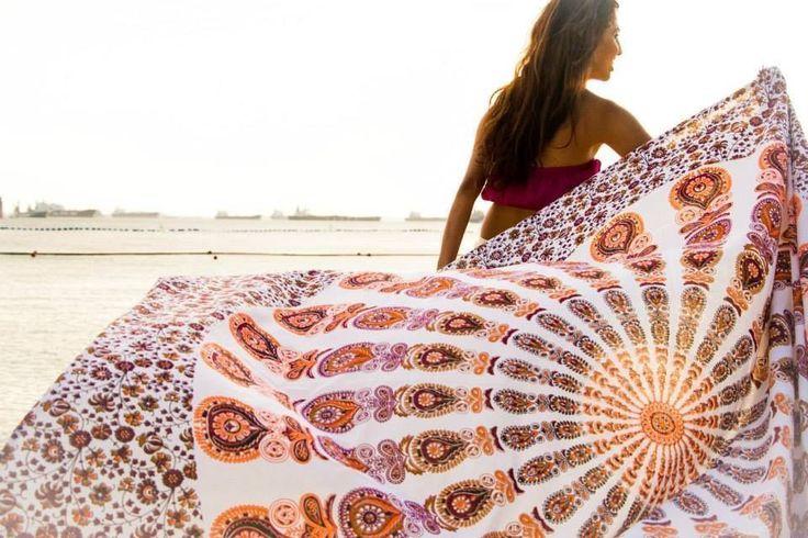 Hippie Mandala Wall Hanging Bohemian Wall Tapestries Queen