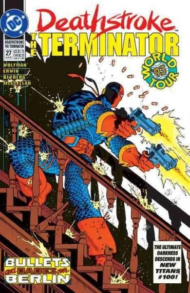 DC Comics Deathstroke, the Terminator 4