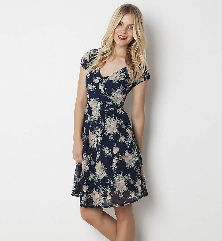 Floral dress 25.99
