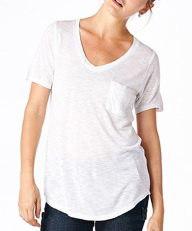 Pinterest the world s catalog of ideas for Pocket tee shirts for womens