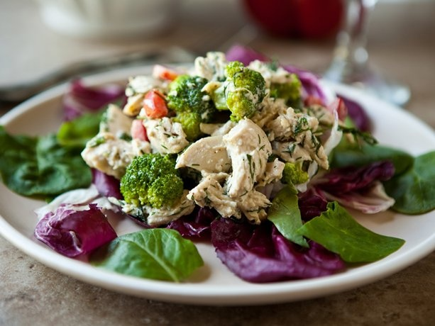 The Best Chicken Salad