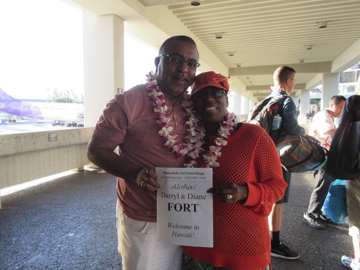 82 best lei greeting photos images on pinterest photographs where is the best place to celebrate your retirement hawaii of course and thats just what darryl and diane had in mind your lei greeter naomi hopes you m4hsunfo