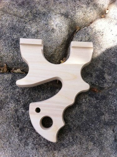 """Hellcat"" Blank Custom Hunting Slingshot Survival Catapult Tripwire Survival | eBay"