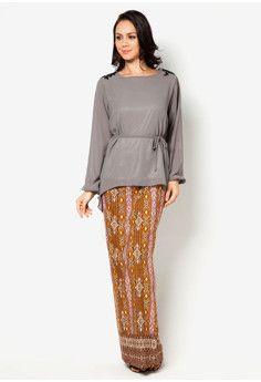 Chloe Lace Kaftan Knee Length Kain Batik