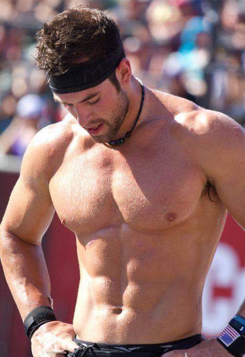 Rich Froning - Reebok Cross Fit Games 3rd time champion - the fittest man on earth