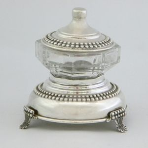 Sterling silver 925 honey dish  Can also be used as a sauce / sugar / dip WWW.STUBADI.COM