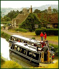 Canal boating in the UK