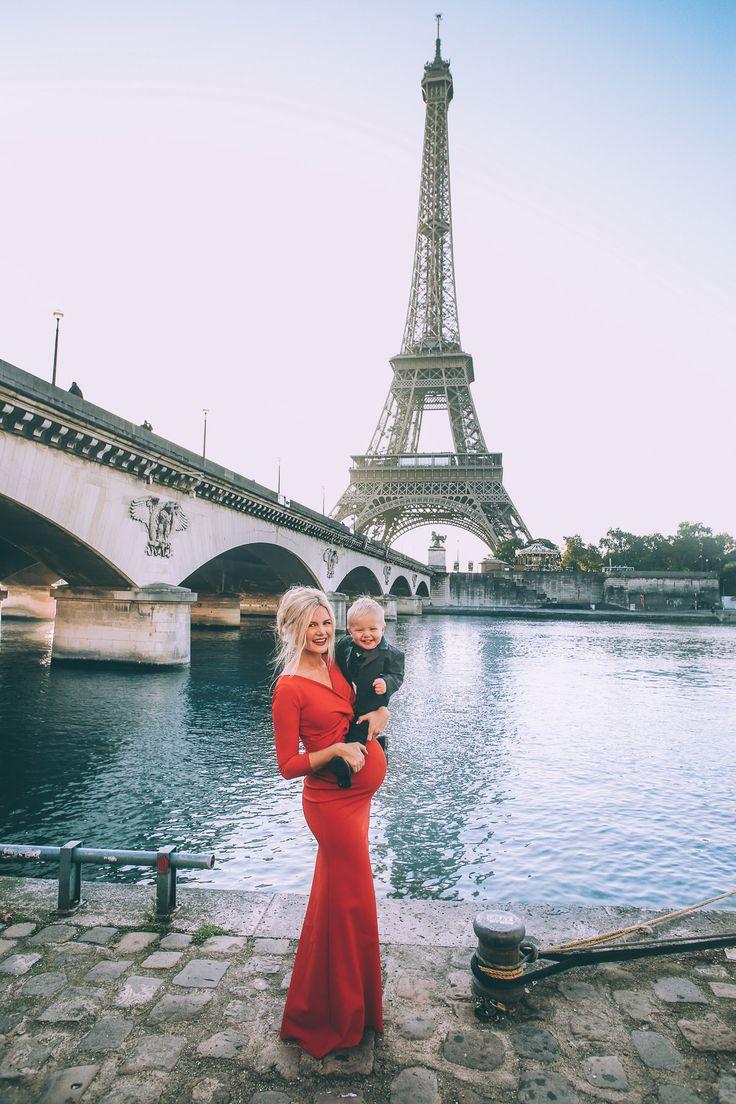 Paris Maternity Photos