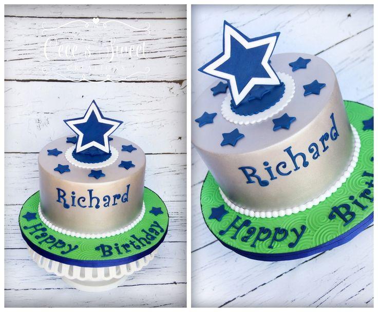 The 25 best Dallas cowboys birthday cake ideas on Pinterest