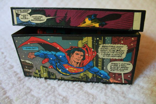 Comic Book Box (Lots of Pictures!) - PAPER CRAFTS, SCRAPBOOKING & ATCs (ARTIST TRADING CARDS)