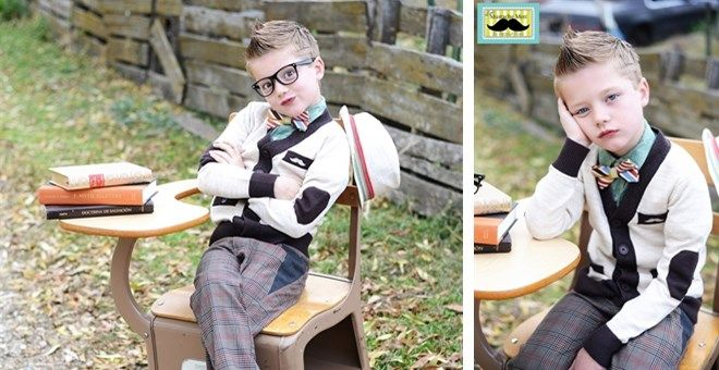 Boy's Cardigan by Mustache Men Clothing | Jane