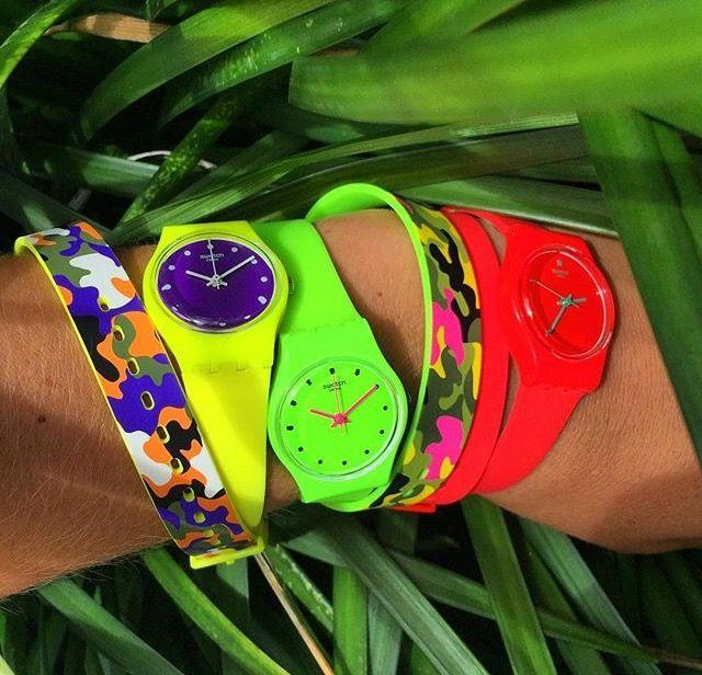 Colore e Camouflage per i nostri polsi!! Swatch, non ci deludi mai!! http://www.gioielleriagigante.it/categoria-prodotto/orologi/swatch-orologi/