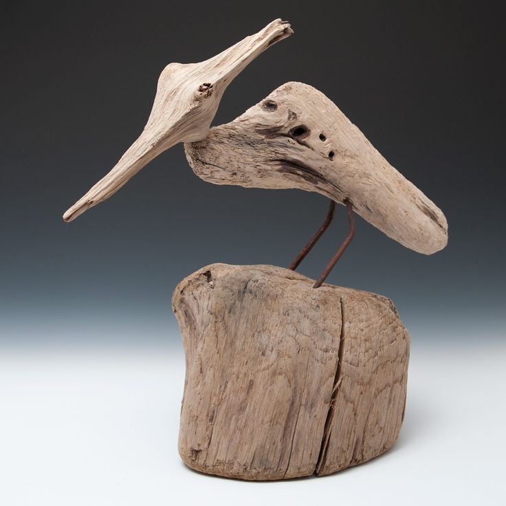 Sid Burnard - driftwood shorebird