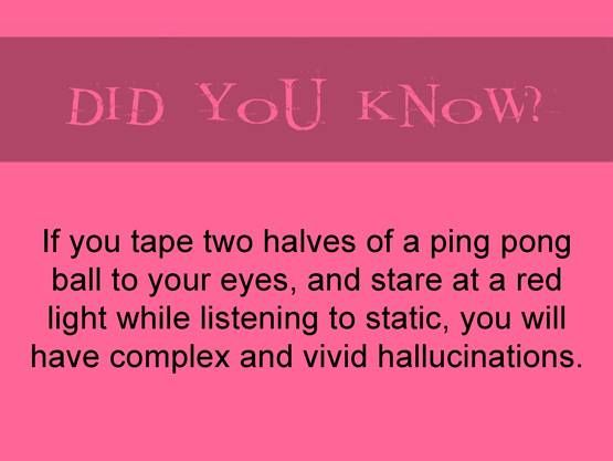 fun fact. This is actually really scary