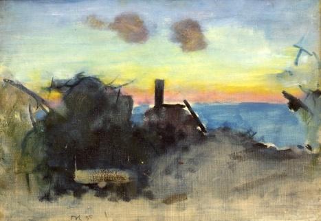 Majnat, 1935, Oluf Høst