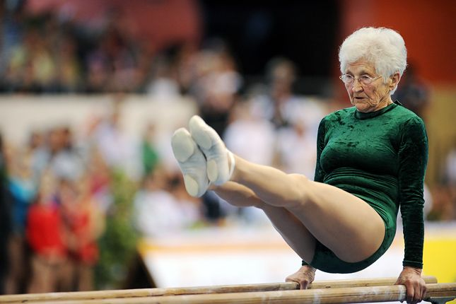 Oldest Gymnast: 86-year-old Johanna Quaas sets world record