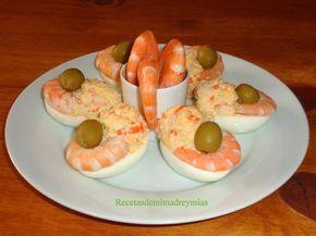Hoy os traigo unos huevos rellenos, que son perfectos para una cena fría, ahora que viene el verano Paso a paso Ingredientes p...