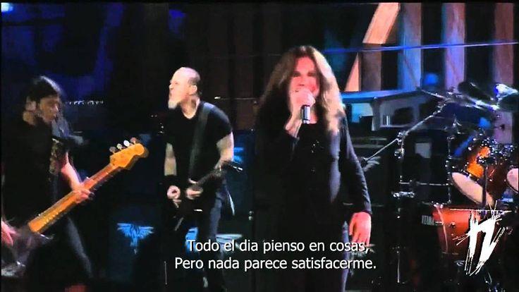 Metallica & Ozzy Osbourne • Iron Man and Paranoid (Subtitulado) • HD