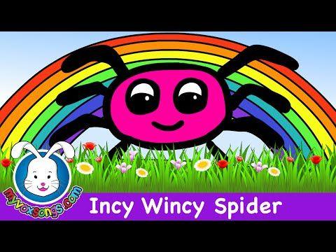 Incy Wincy Spider - KidsPressMagazine.com