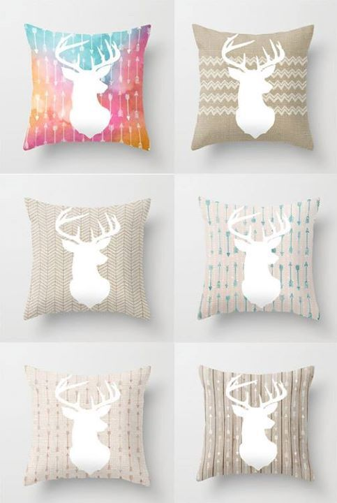 Lily and Vine Stag collection http://lilyandvine.co.nz/product-category/cushions/stag-collection/