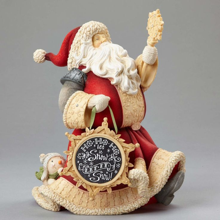 43 best enesco heart of christmas images on pinterest christmas karen hahn heart of christmas heart of christmas santa with snowman 4052758 new spiritdancerdesigns Choice Image