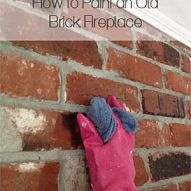 You don't have to live with an ugly, dreary, outdated brick fireplace.… :: Hometalk