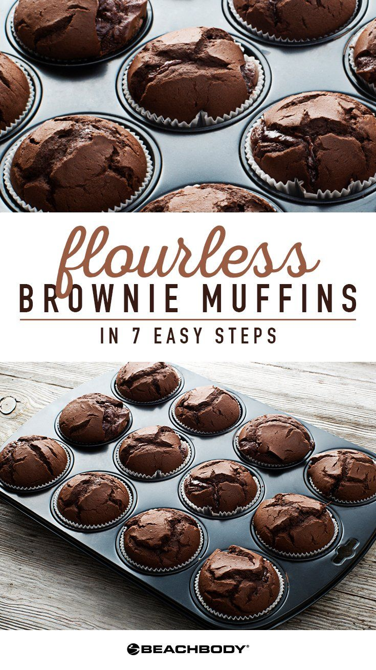 Everyone loves a warm brownie recipe. Try this flourless version that is delicious and healthy! brownie without flour recipes // healthy brownies without flour recipes // 21 day fix recipes // brownies recipe // Beachbody // Beachbody Blog // #brownies #browniesrecipe #21dayfix #healthydesserts