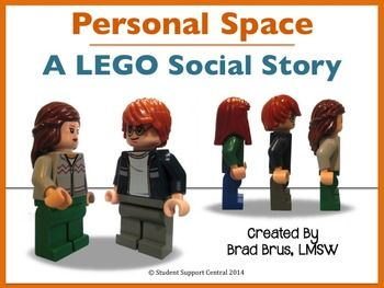 Use this LEGO Personal Space Social Story to increase social understanding re: PERSONAL SPACE. Students love to identify with the LEGO characters, as concepts are presented in a clear, understandable format. Relevant, helpful, and fun. High quality product.