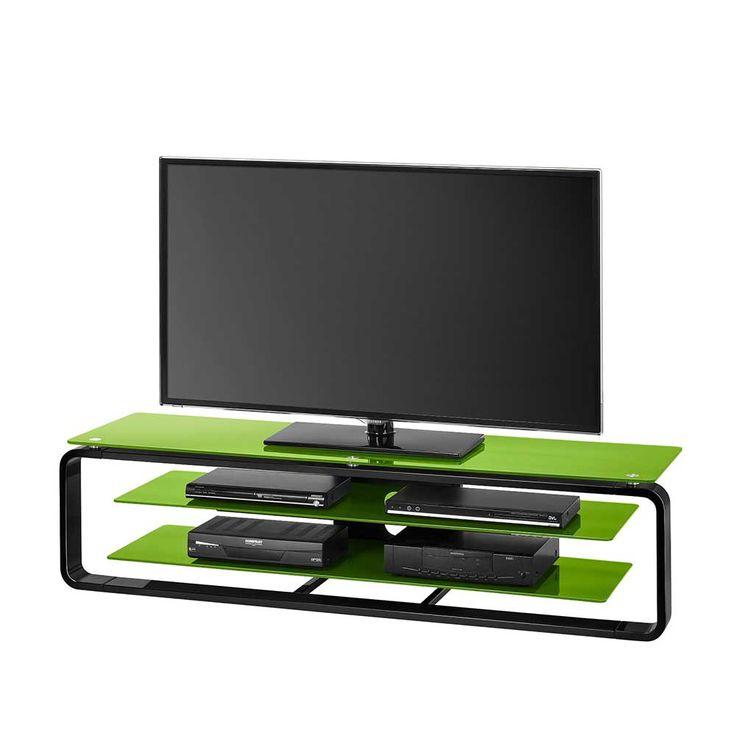 Glas TV Rack In Grün Schwarz Beleuchtung Jetzt Bestellen Unter:  Https://moebel