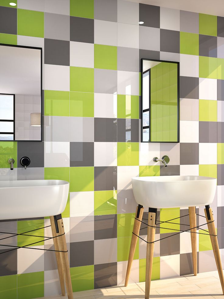 ¡Más espacios atrevidos y divertidos combinando varios colores de nuestra serie #Carpio! ¿Qué os parece el formato cuadrado?