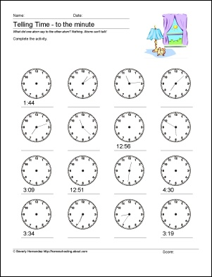 1000+ images about Math Mania on Pinterest | Blank clock, Common ...