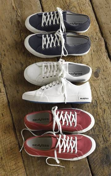 SeaVees Women's Casual Lace-Up Sneakers - I would love a great casual shoe for chasing my kids & hanging out with friends/family