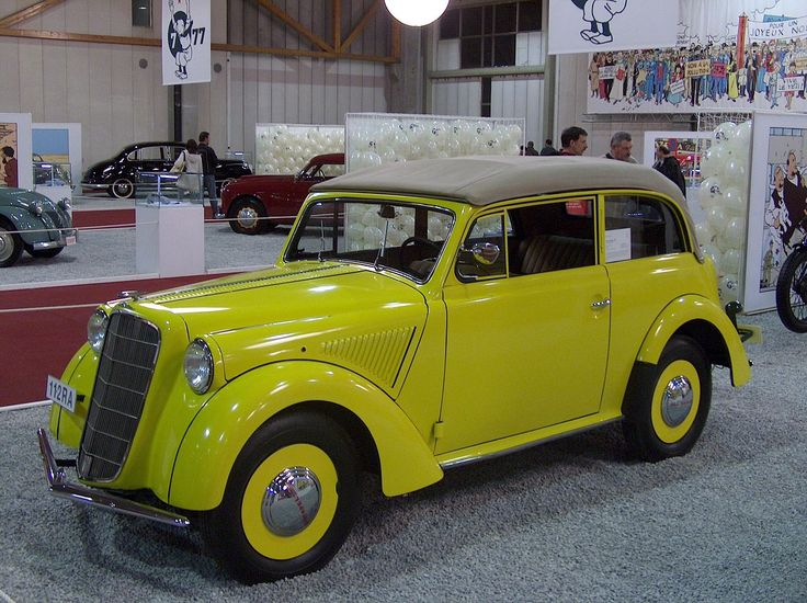 1936 - Opel Olympia cabriolet coach