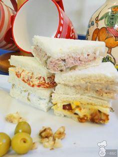 Ideas de rellenos para sandwiches, canapés, tartaletas y huevos rellenos