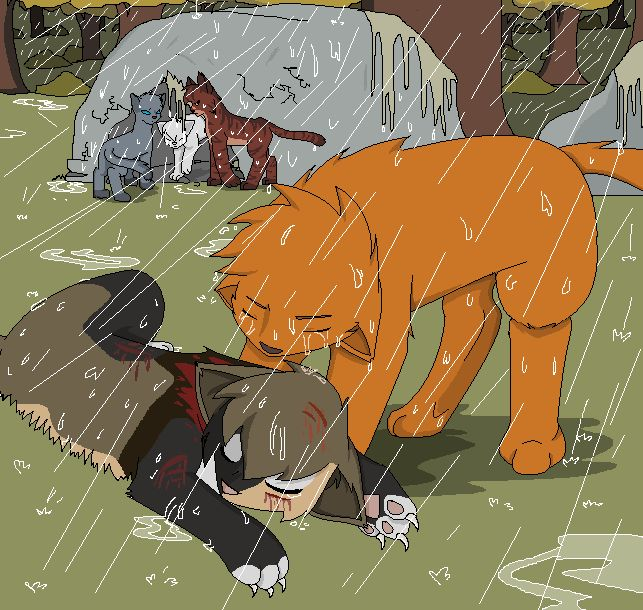 Warrior Cats Dead: 159 Best Images About Warrior Cats Scenes On Pinterest