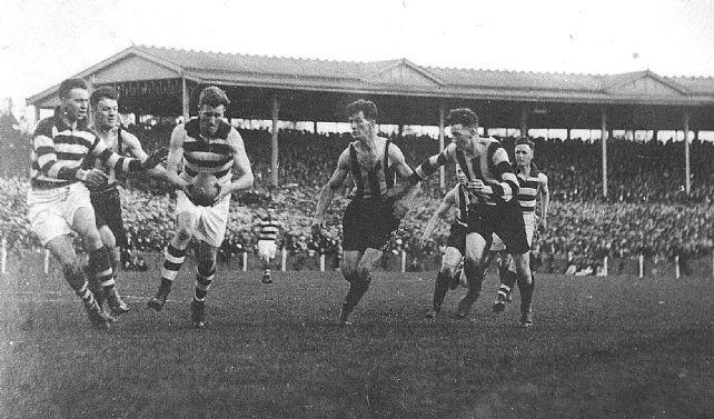 Moggies beat Maggies for 1925 flag