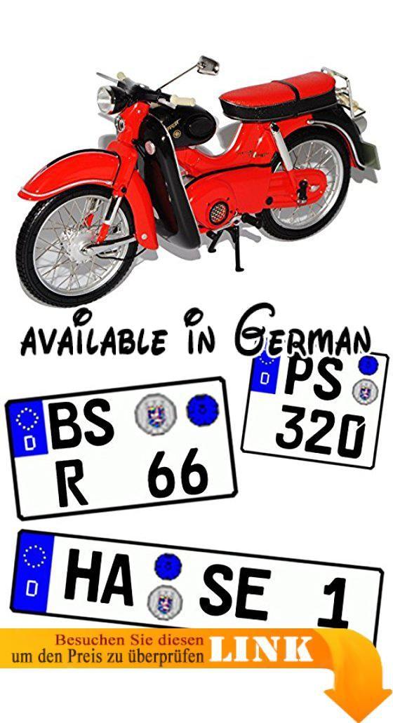 B01G7SEBLM : Kreidler Florett Super mit Beinschild Rot Schwarz 1/10 Schuco Modell Motorrad mit individiuellem Wunschkennzeichen. INKUSIVE WUNSCHKENNZEICHEN: Das Fahrzeug wird mit IHREM individuellem Wunschkennzeichen geliefert! <br />Die Kennzeichen sind selbstklebend - also einfach auf die gewünschte Größe ausschneiden und die Folie hinten abziehen. <br />___die Nachfrage des Kennzeichens erfolgt - AUTOMATISCH innerhalb 1 Werktag - bitte vorher KEINE Nachricht senden___.