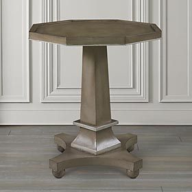 Elegant Bassett Discoveries Pedestal Accent Table Discount Furniture At Hickory  Park Furniture Galleries