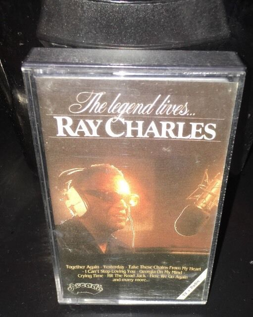The Legend Lives Ray Charles Cassette 1981 Arcade Germany Import RARE | eBay