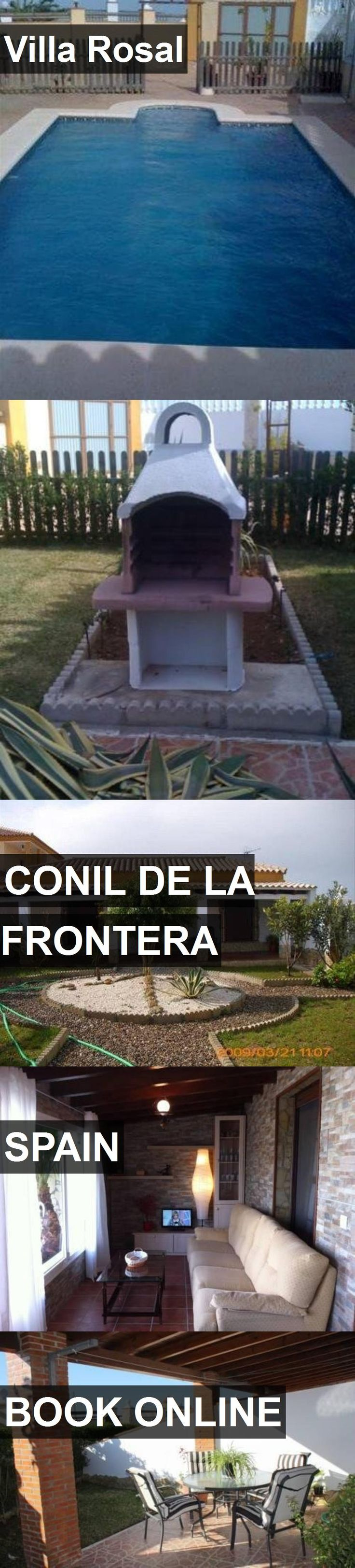 Hotel Villa Rosal in Conil de la Frontera, Spain. For more information, photos, reviews and best prices please follow the link. #Spain #ConildelaFrontera #travel #vacation #hotel