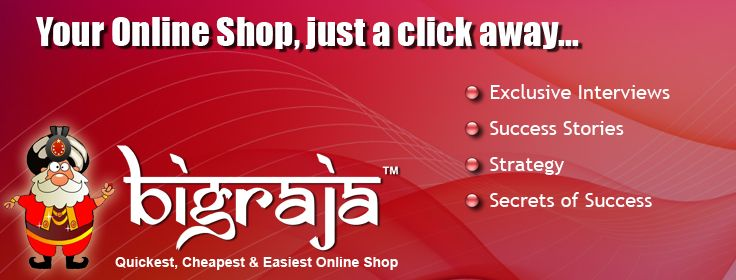 It does not cost you anything to create online store with BigRaja. It is just a matter of 5 Minutes.  For more details, visit here: http://www.bigraja.in/